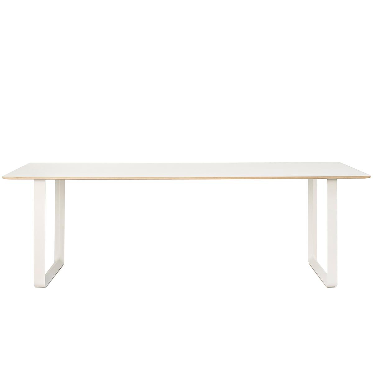 Muuto - 70/70 Esstisch, 225 x 90 cm, weiß (Laminat) | Baumarkt > Bodenbeläge | Weiß | Muuto
