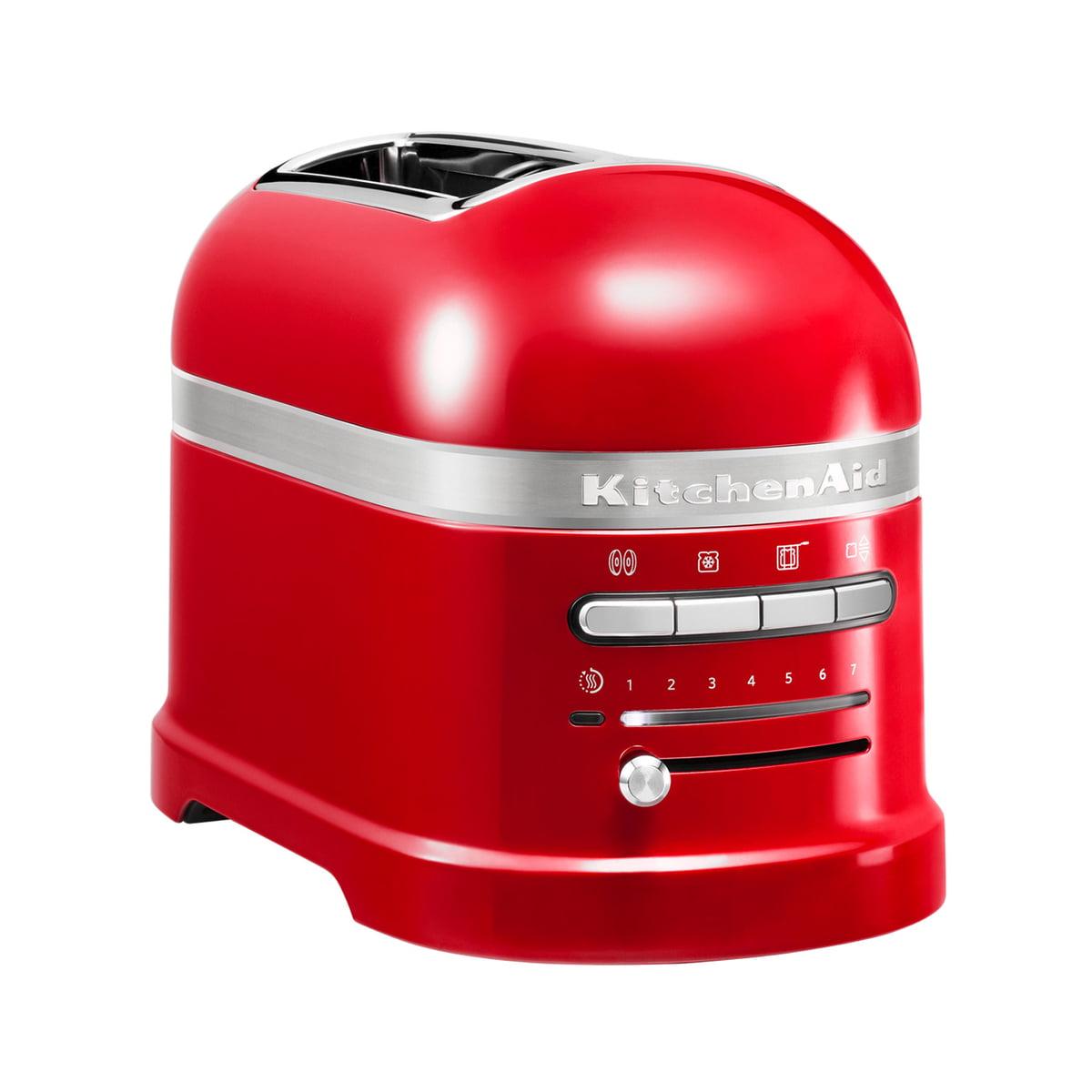 Kitchen Aid KitchenAid - Artisan Toaster 5KMT2204EER, 2 Scheiben, empire rot | Küche und Esszimmer > Küchengeräte > Toaster | Rot | Kitchen Aid