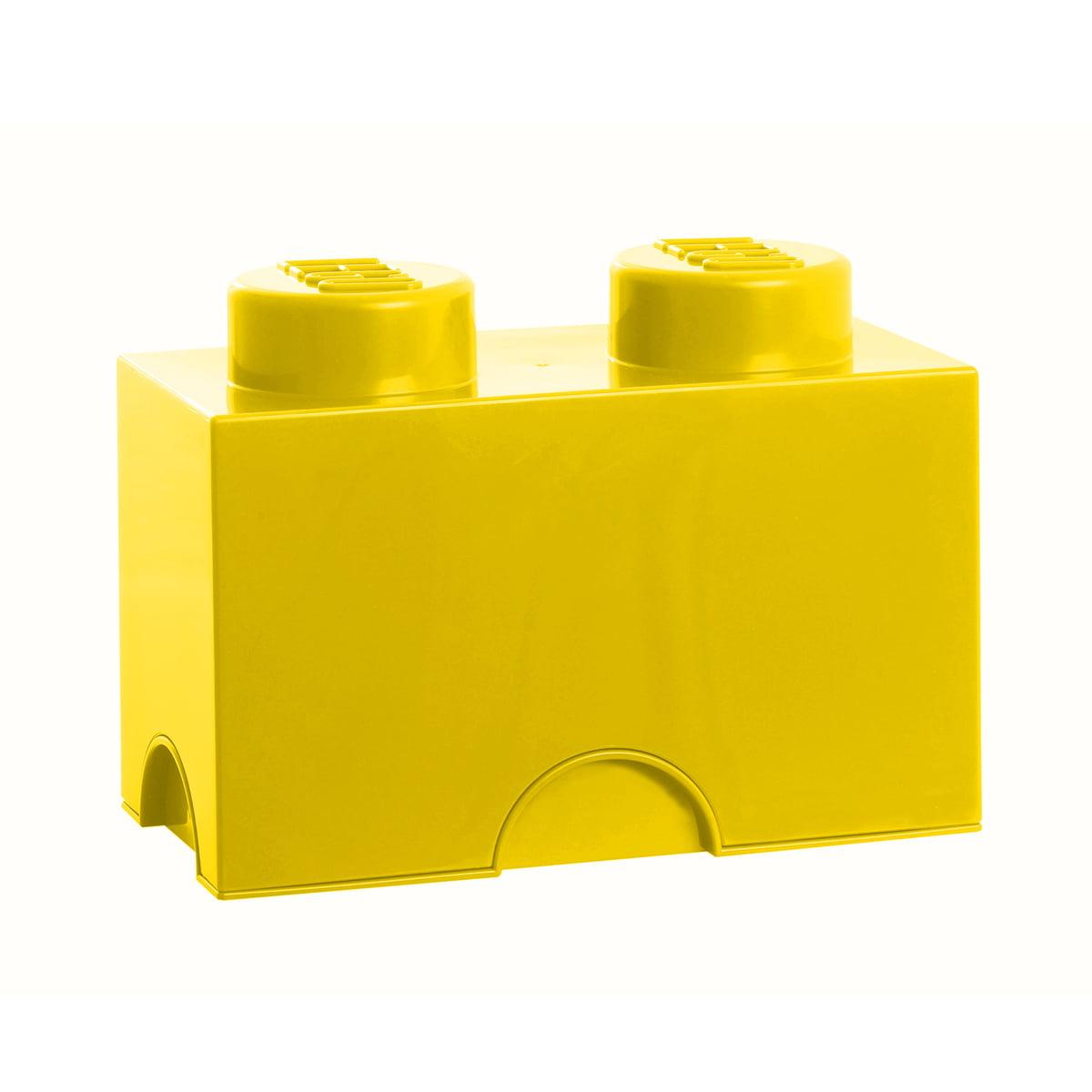 Lego - Storage Brick 2, gelb   Kinderzimmer > Spielzeuge > Sonstige Spielzeuge   Lego