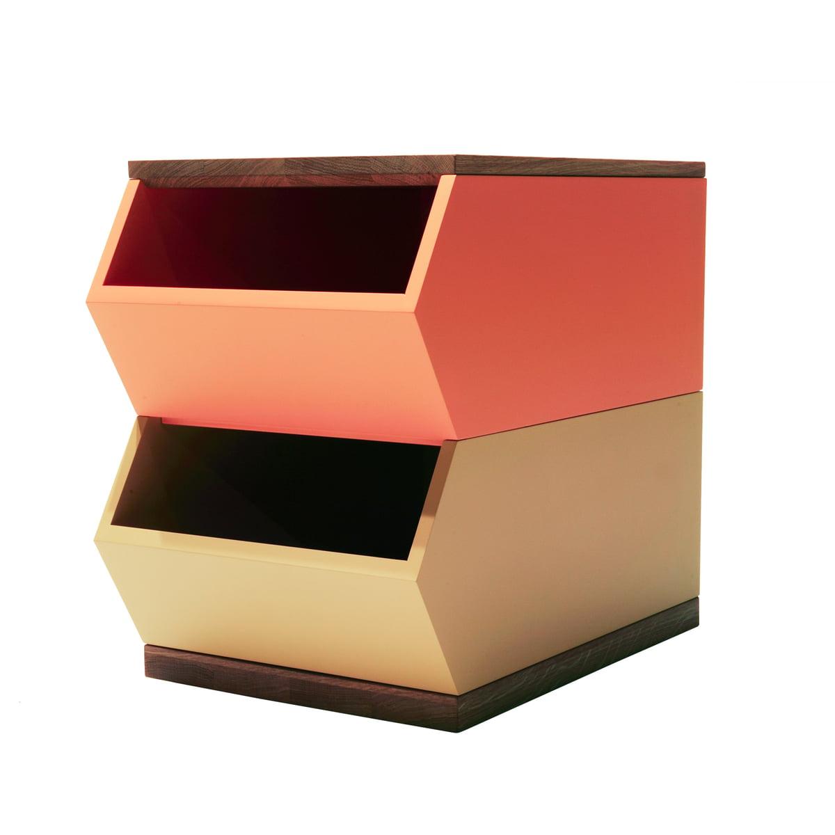 Container set orange gelb