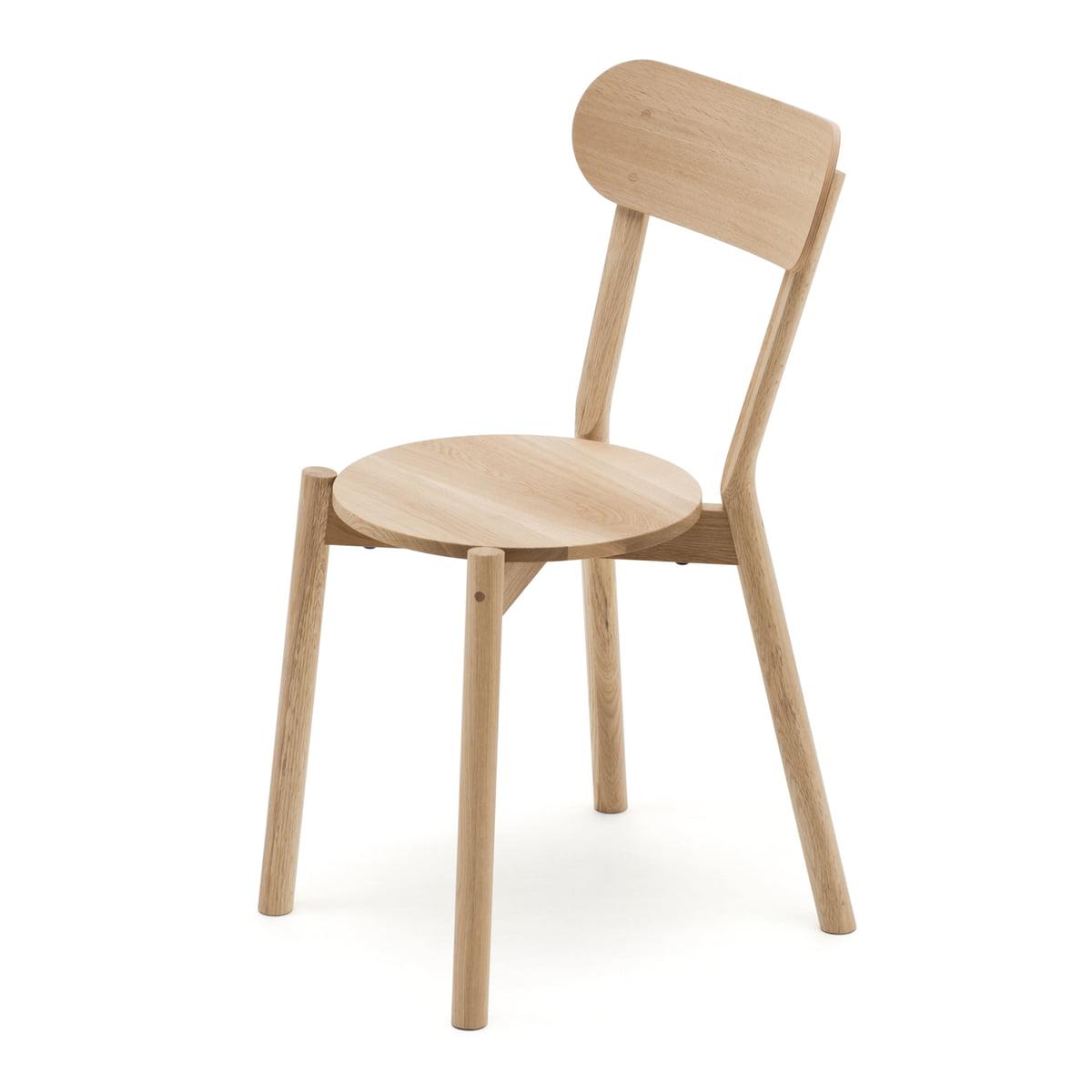 Karimoku new standard castor chair eiche natur