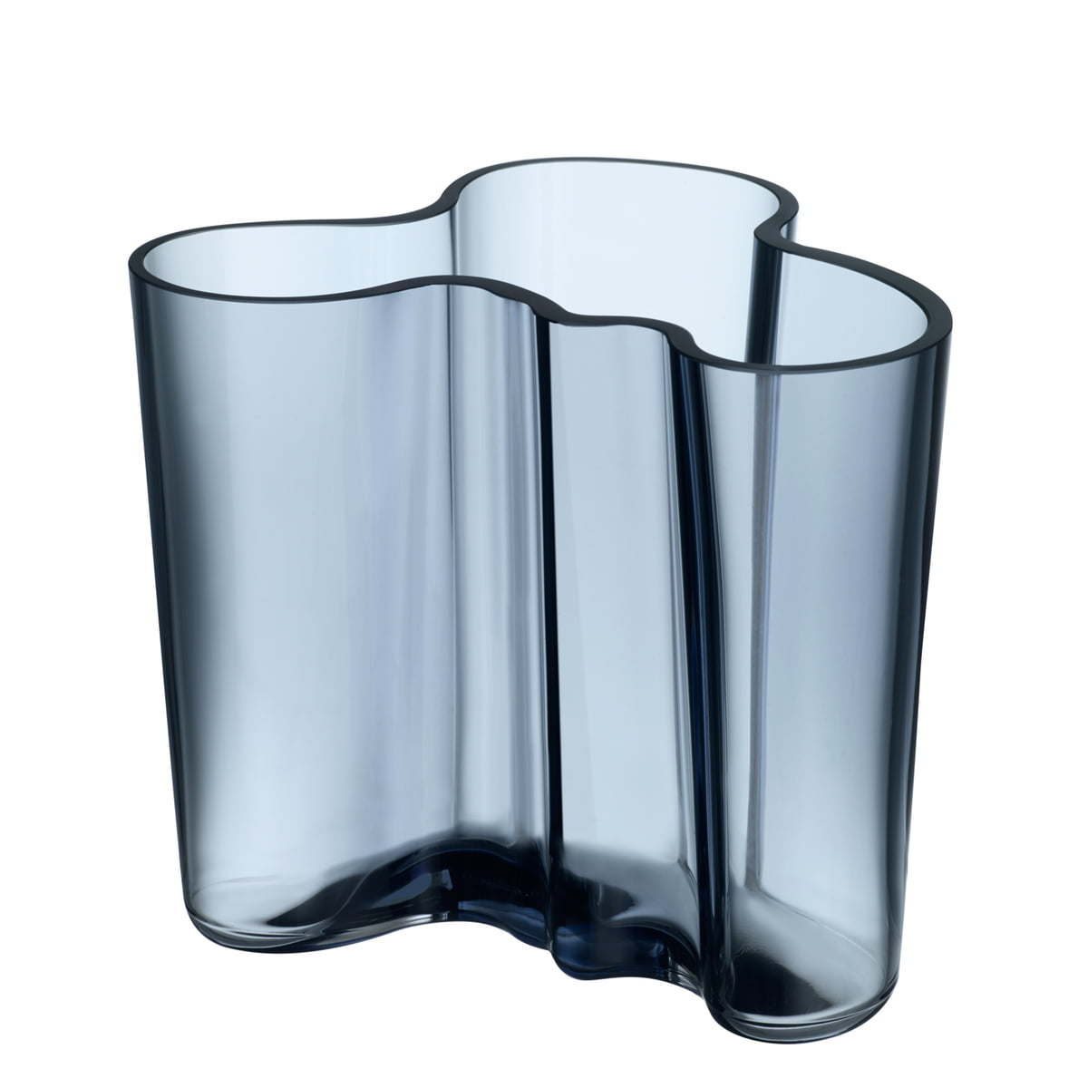 Aalto vase 120mm regenblau