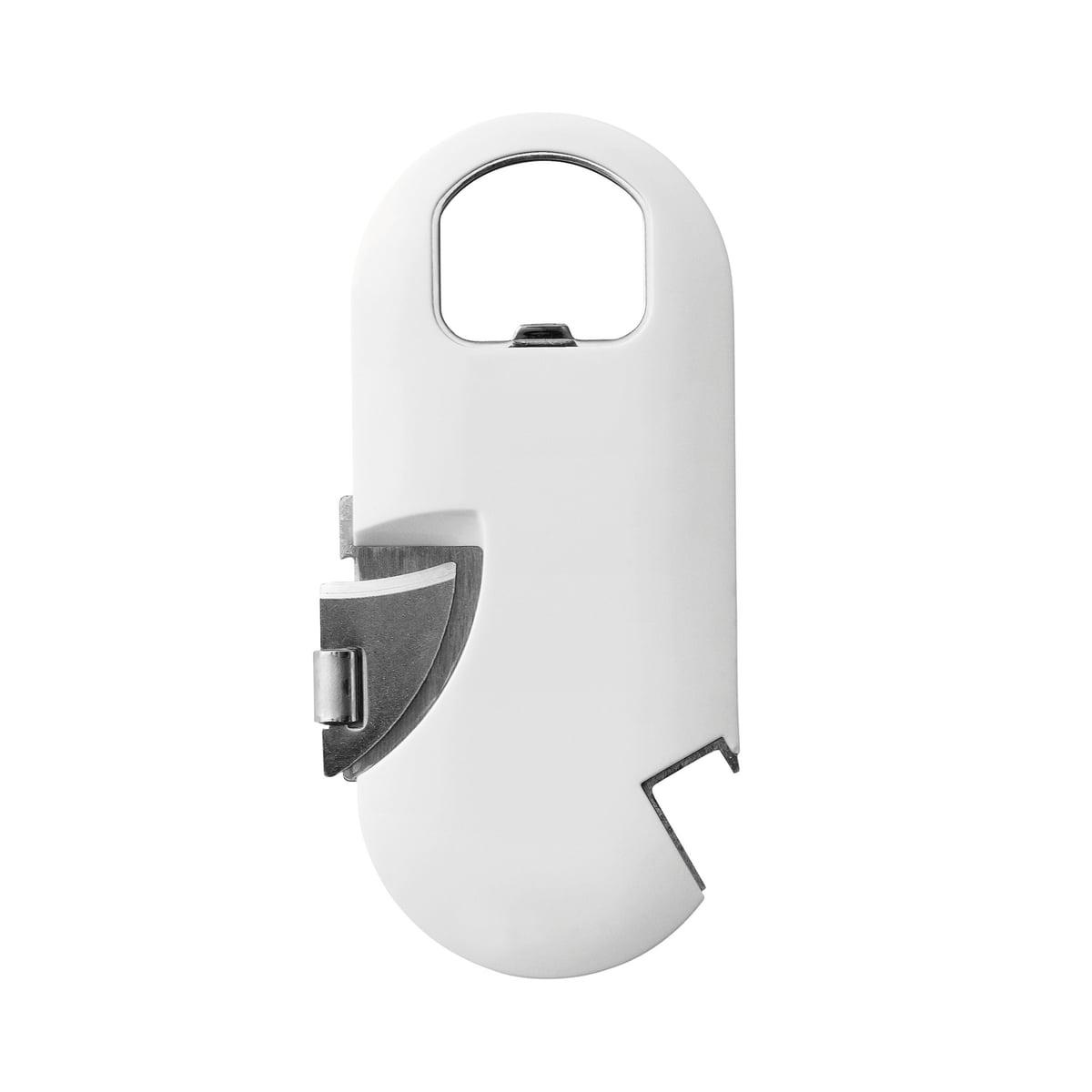 Rig-Tig by Stelton - Multi Öffner | Küche und Esszimmer > Kochen und Backen | Weiß | Edelstahl -  kunststoff | Stelton