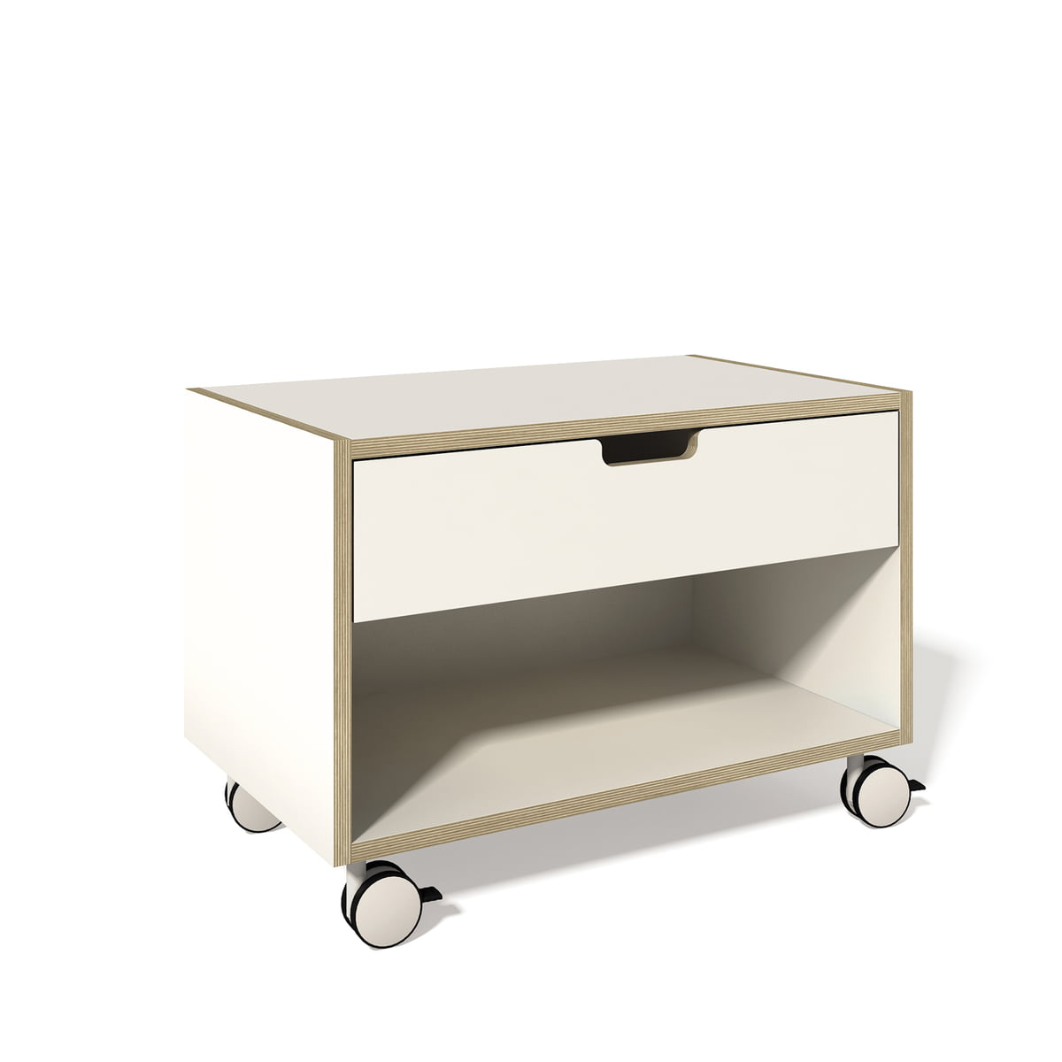 Nachttischschrank modular weiss multiplex