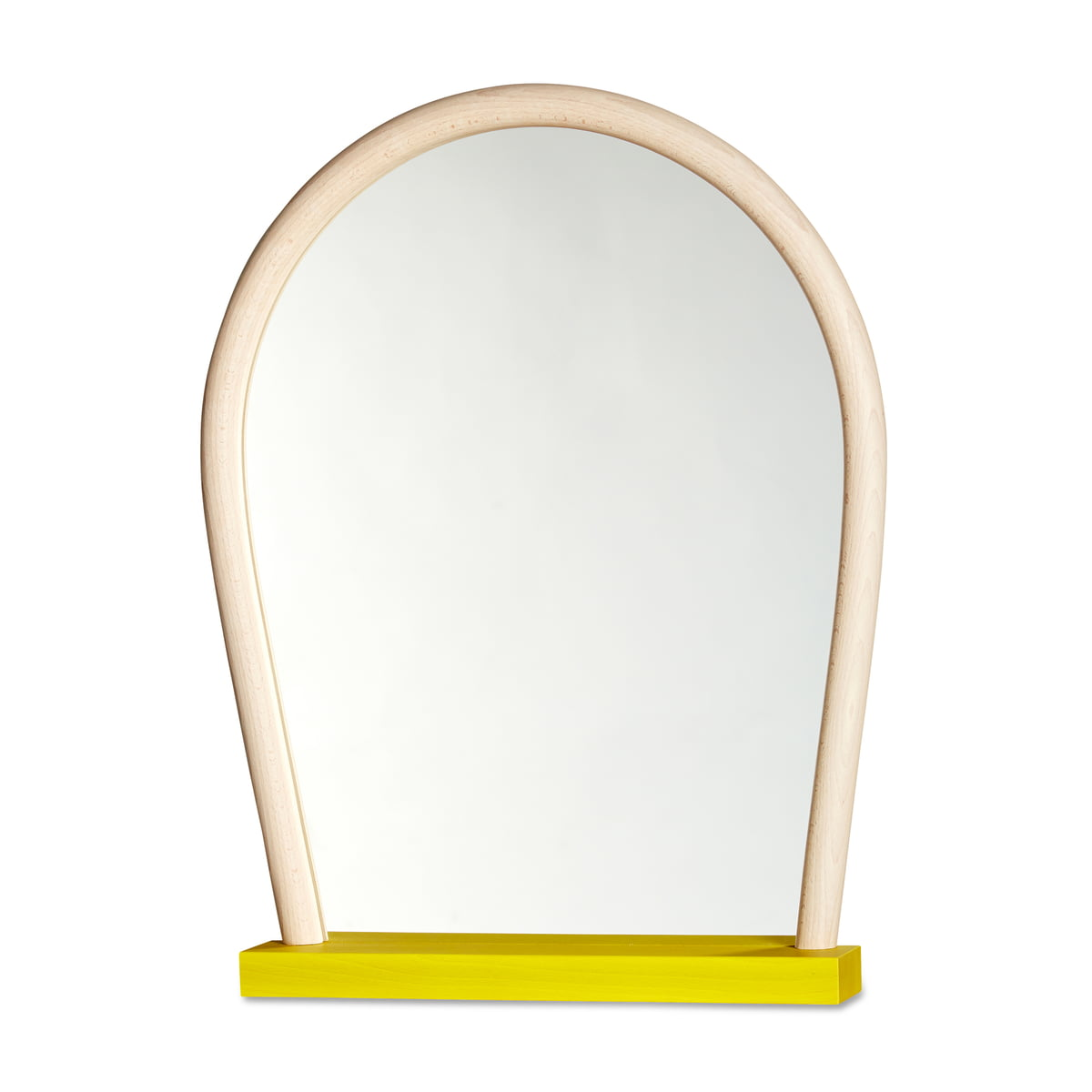 Bent Wood Mirror