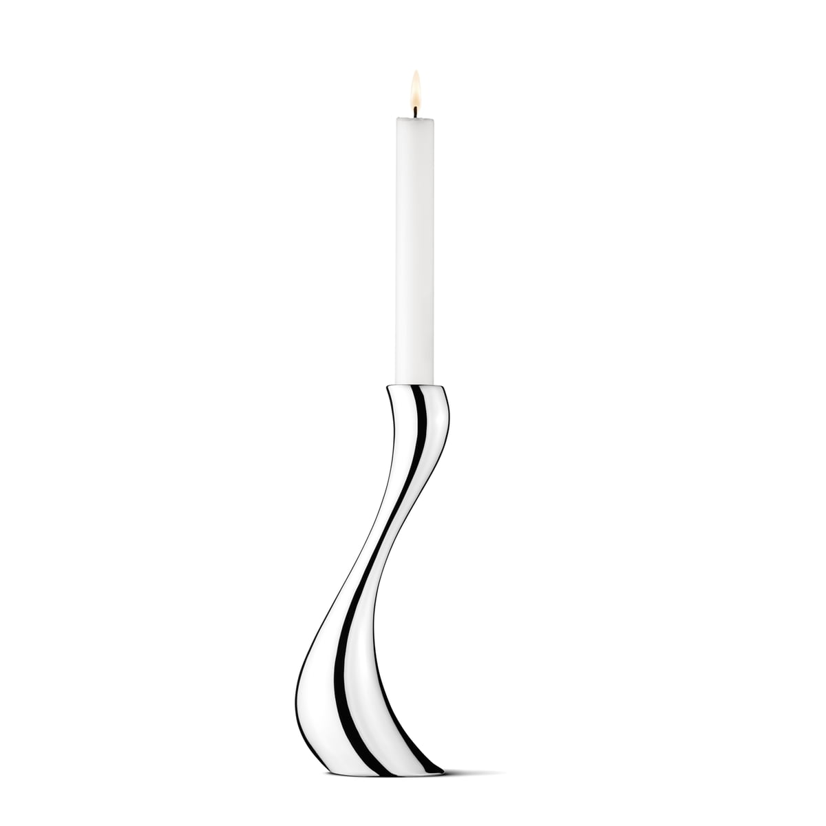 Georg Jensen - Cobra Kerzenleuchter, 24 cm   Dekoration > Kerzen und Kerzenständer > Kerzenleuchter   Georg Jensen