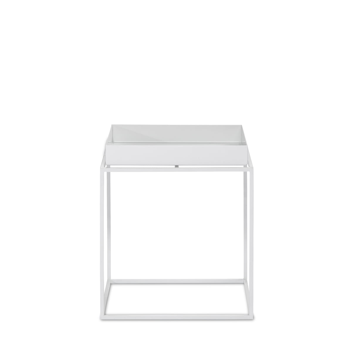 Tray table weiss 30x30 frei
