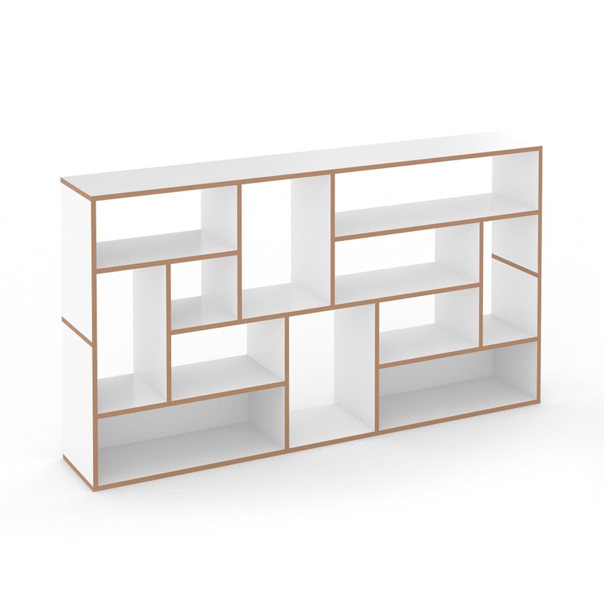 Tojo - Hanibal Regalsystem, side | Wohnzimmer > Regale > Regalsysteme | Weiß | Mdf beschichtet / verbindung lamello clamex | Tojo