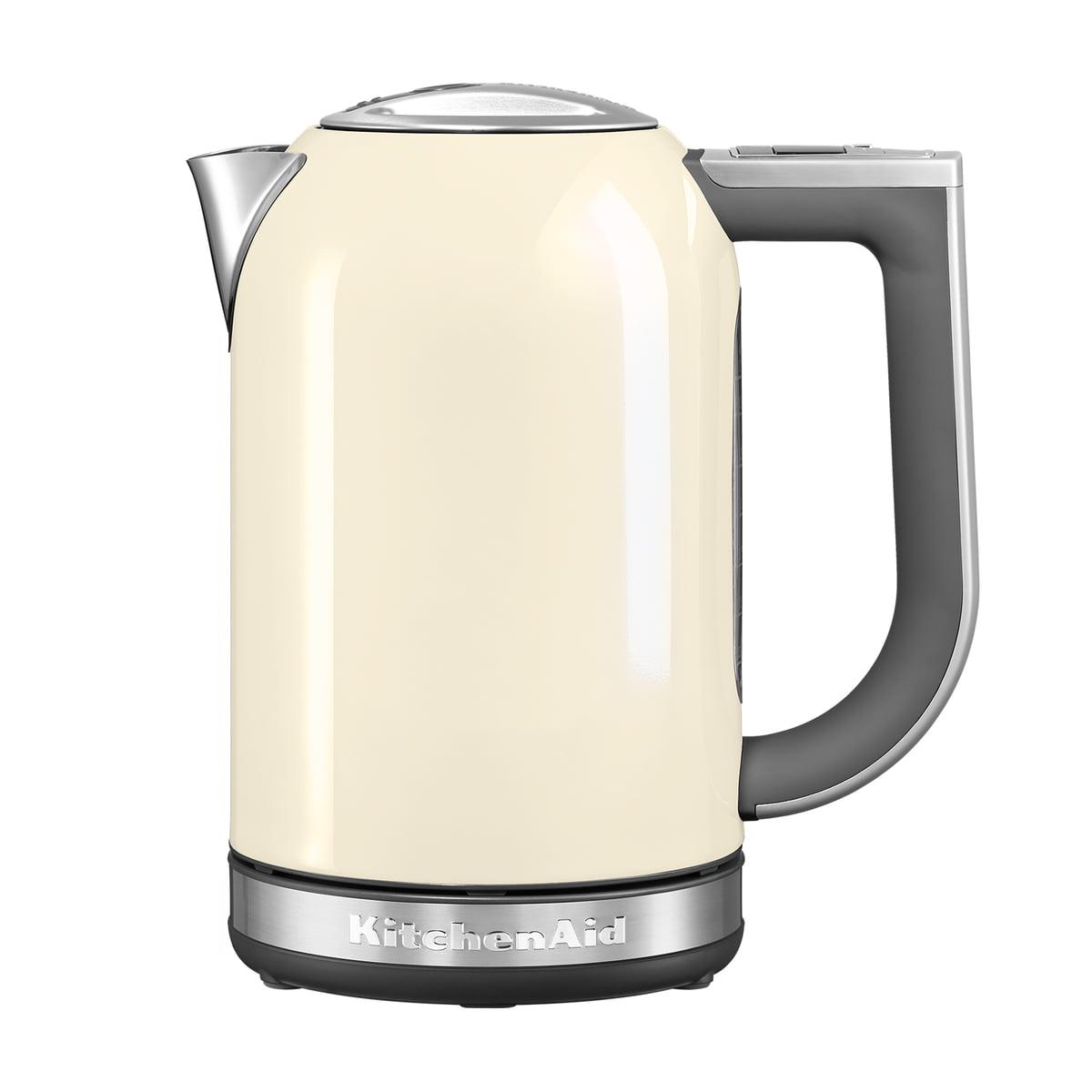 Kitchen Aid KitchenAid - Wasserkocher 1,7 l (5KEK1722), crème | Küche und Esszimmer > Küchengeräte | Créme | Edelstahl | Kitchen Aid