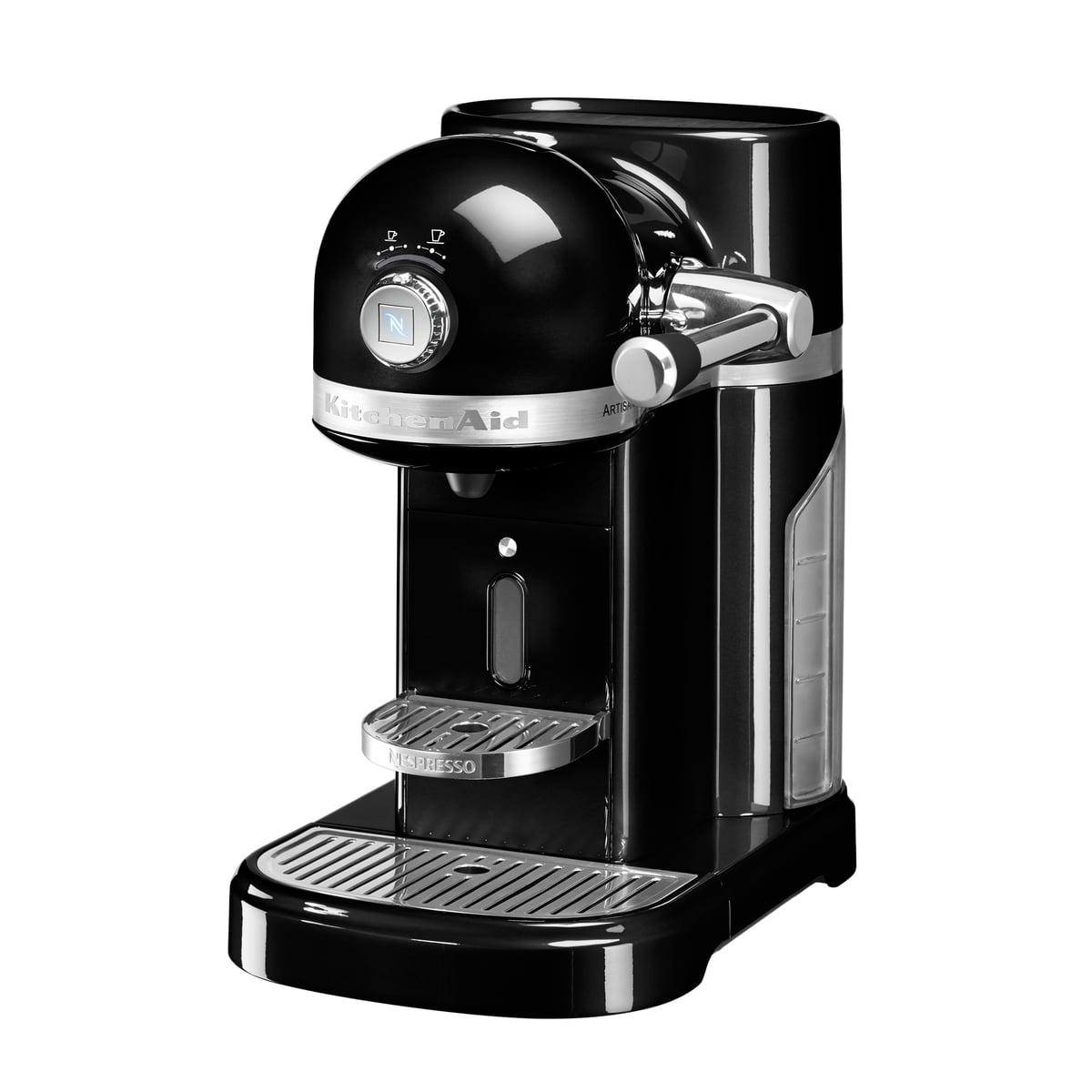 Kitchen Aid KitchenAid - Artisan Nespresso, onyx schwarz | Küche und Esszimmer > Kaffee und Tee > Espressomaschinen | Schwarz | Metallgehäuse | Kitchen Aid