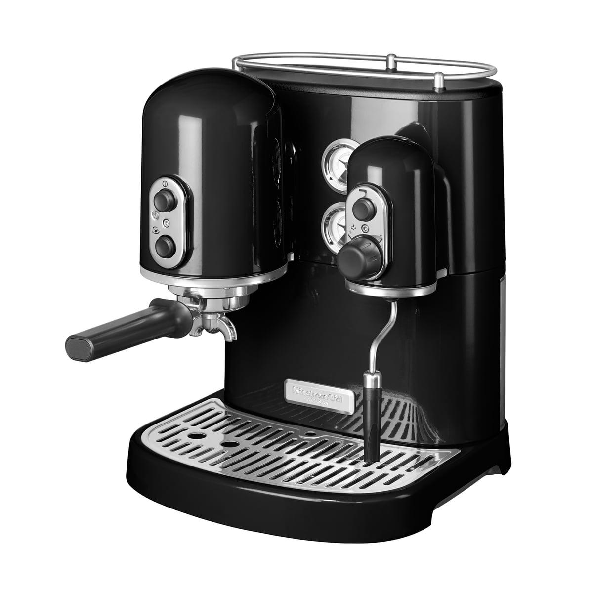 Kitchen Aid KitchenAid - Artisan Espressomaschine, onyx schwarz | Küche und Esszimmer > Kaffee und Tee > Espressomaschinen | Schwarz | Kitchen Aid