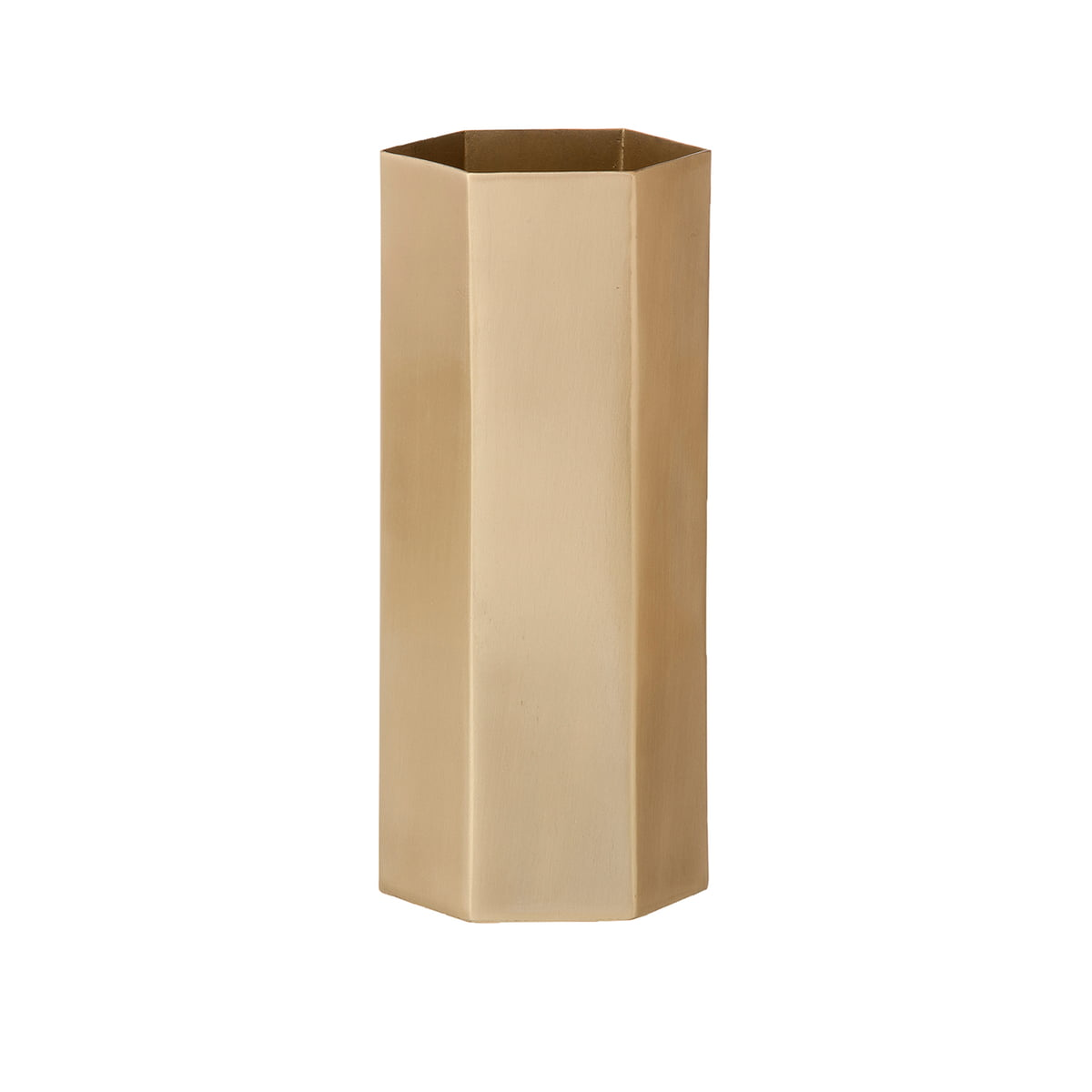 Hexagon vase