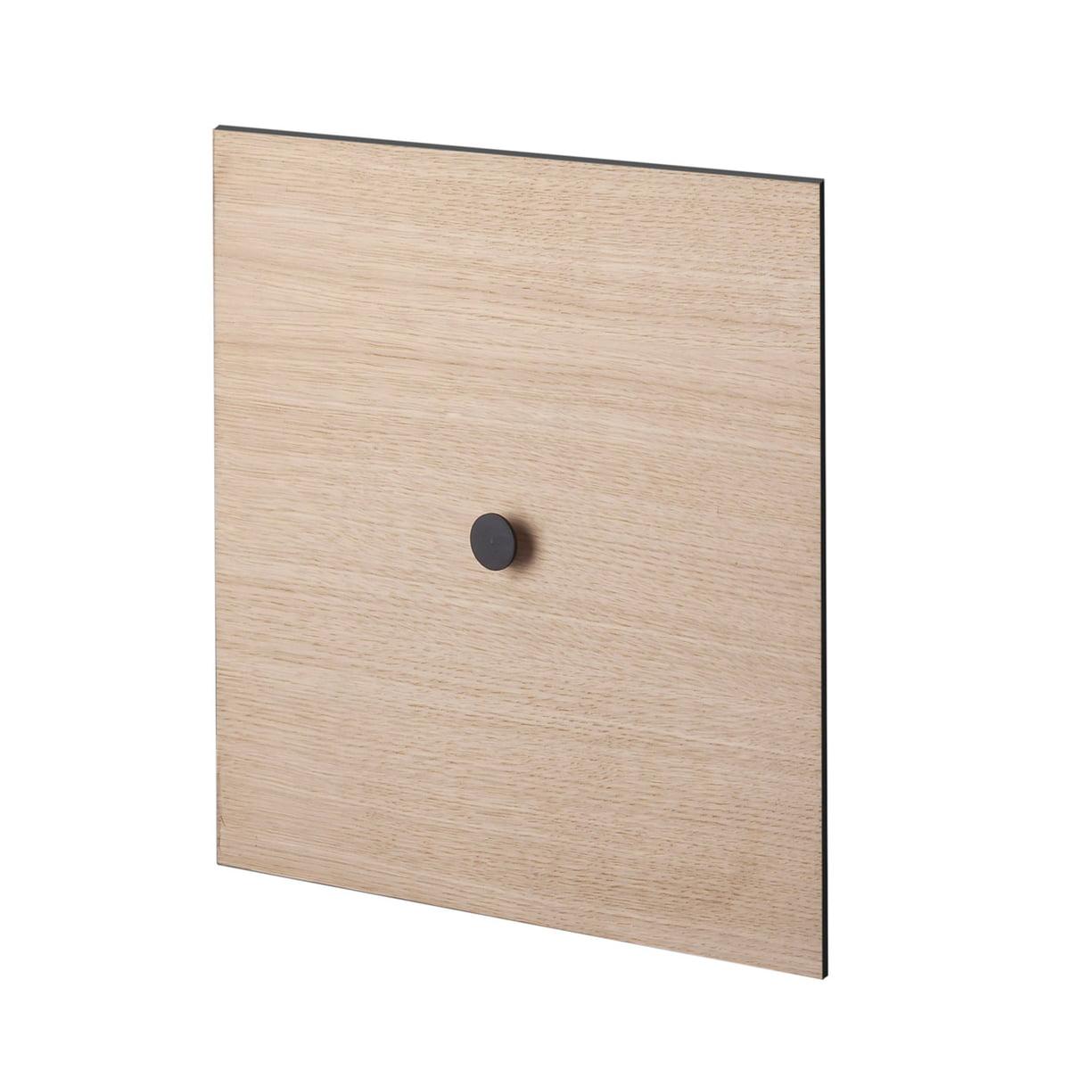 by Lassen - Tür zu dem Frame Wandschrank 35, Eiche | Wohnzimmer > Schränke > Weitere Schränke | Eichenholz | Mdf -  melamin -  eichenfurnier | by Lassen