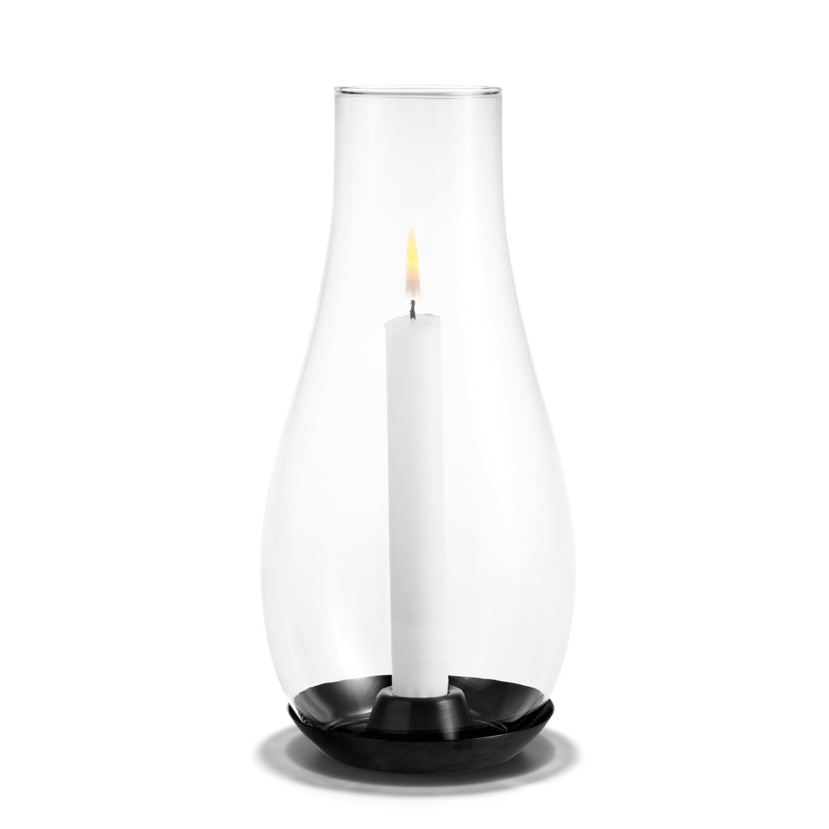 Holmegaard - Design with light Kerzenleuchter, transparent