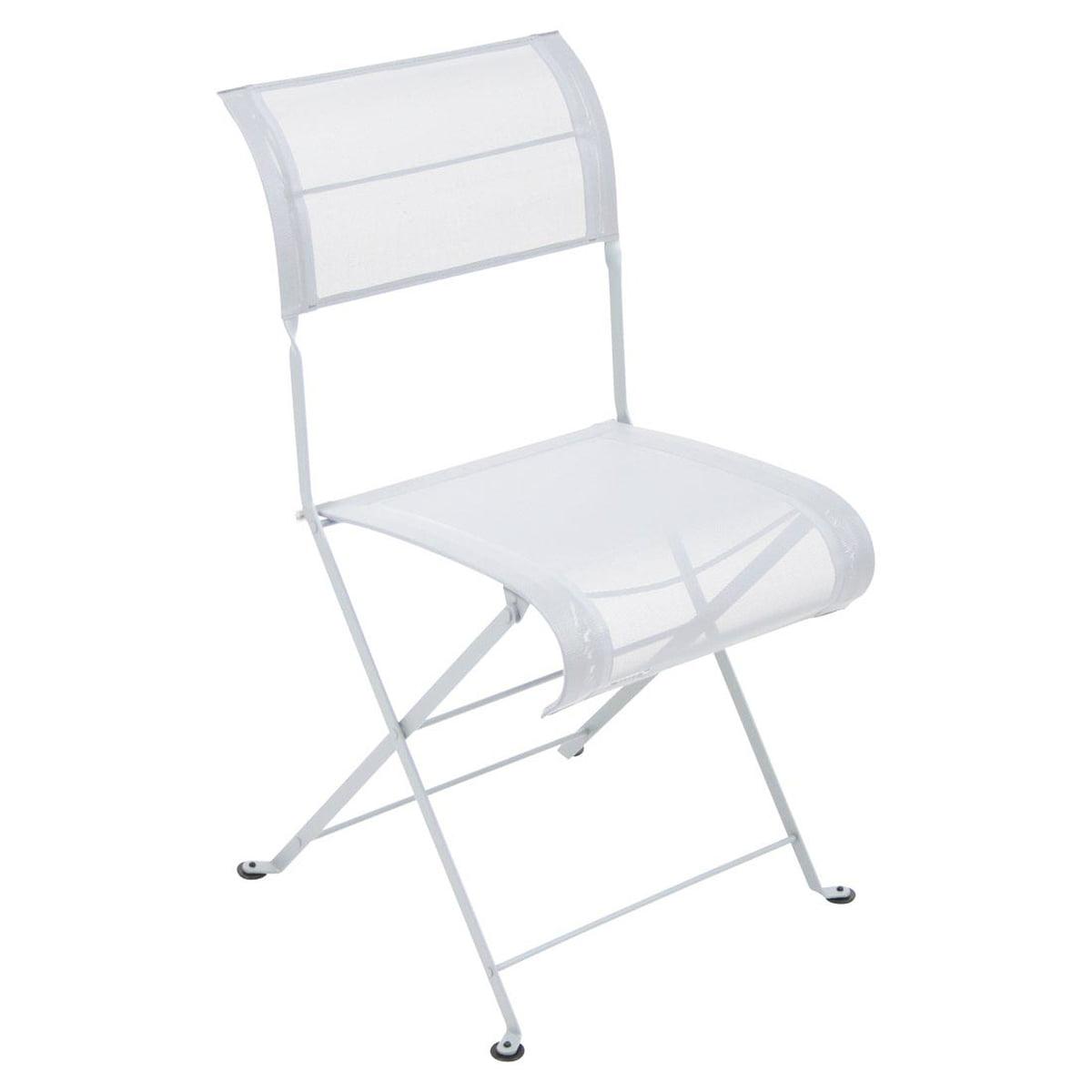 Fermob - Dune Klappstuhl, baumwollweiß | Küche und Esszimmer > Stühle und Hocker > Klappstühle | Baumwollweiß | Stahl mit uv-beständigem pulverlack -  polyester | fermob