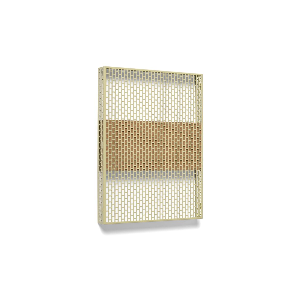 Hay - Pinorama Board small, mustard | Büro > Tafeln und Boards | Senf | Stahl pulverbeschichtet -  kork | Hay