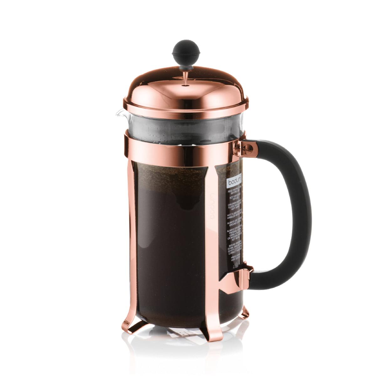 Chambord kaffeebereiter 1 0 l kupfer
