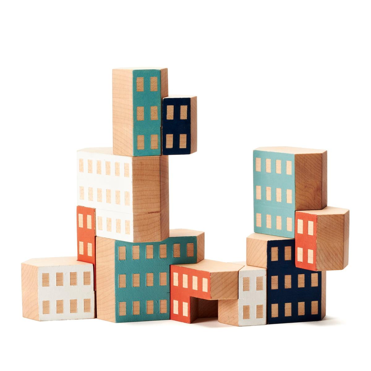 Blockitecture - Holz-Architektur Bausteine