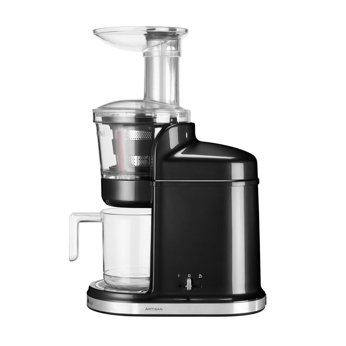 Kitchen Aid KitchenAid - Maximal-Entsafter, onyx schwarz | Küche und Esszimmer > Küchengeräte > Entsafter | Schwarz | Aluminiumdruckguss -  edelstahl -  kunststoff | Kitchen Aid