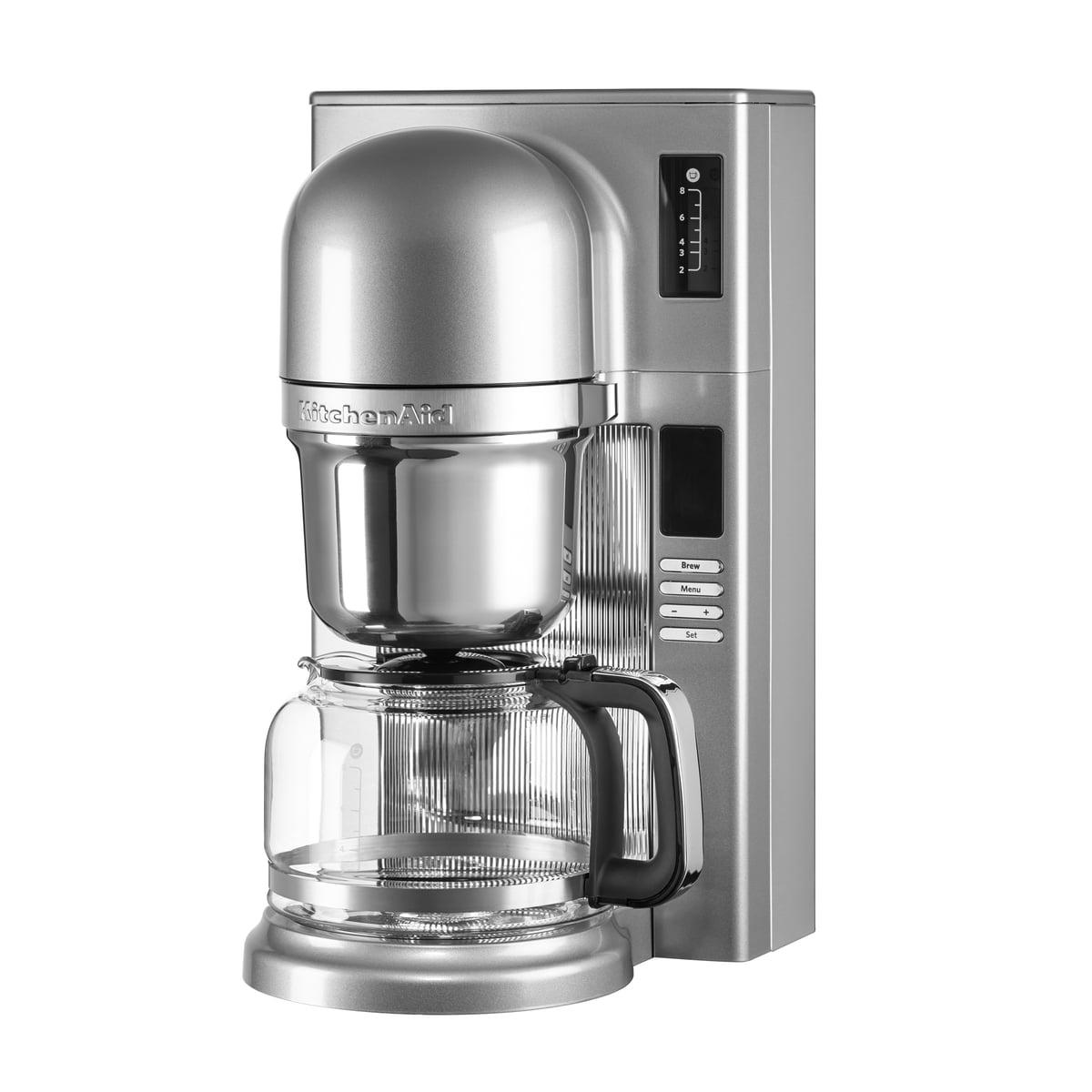 Kitchen Aid KitchenAid - Kaffeemaschine KitchenAid, kontur-silber | Küche und Esszimmer > Kaffee und Tee > Kaffeemaschinen | Kitchen Aid