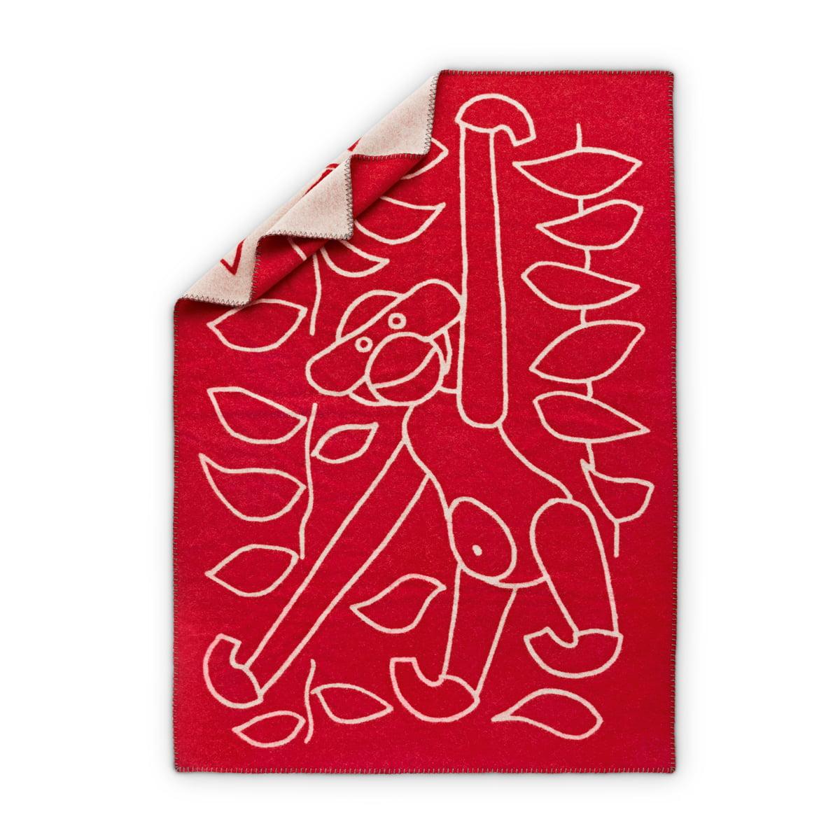 Kay Bojesen - Kinderdecke 80 x 120 cm, rot | Kinderzimmer > Textilien für Kinder > Kinderbettwäsche | Rot | Kay Bojesen