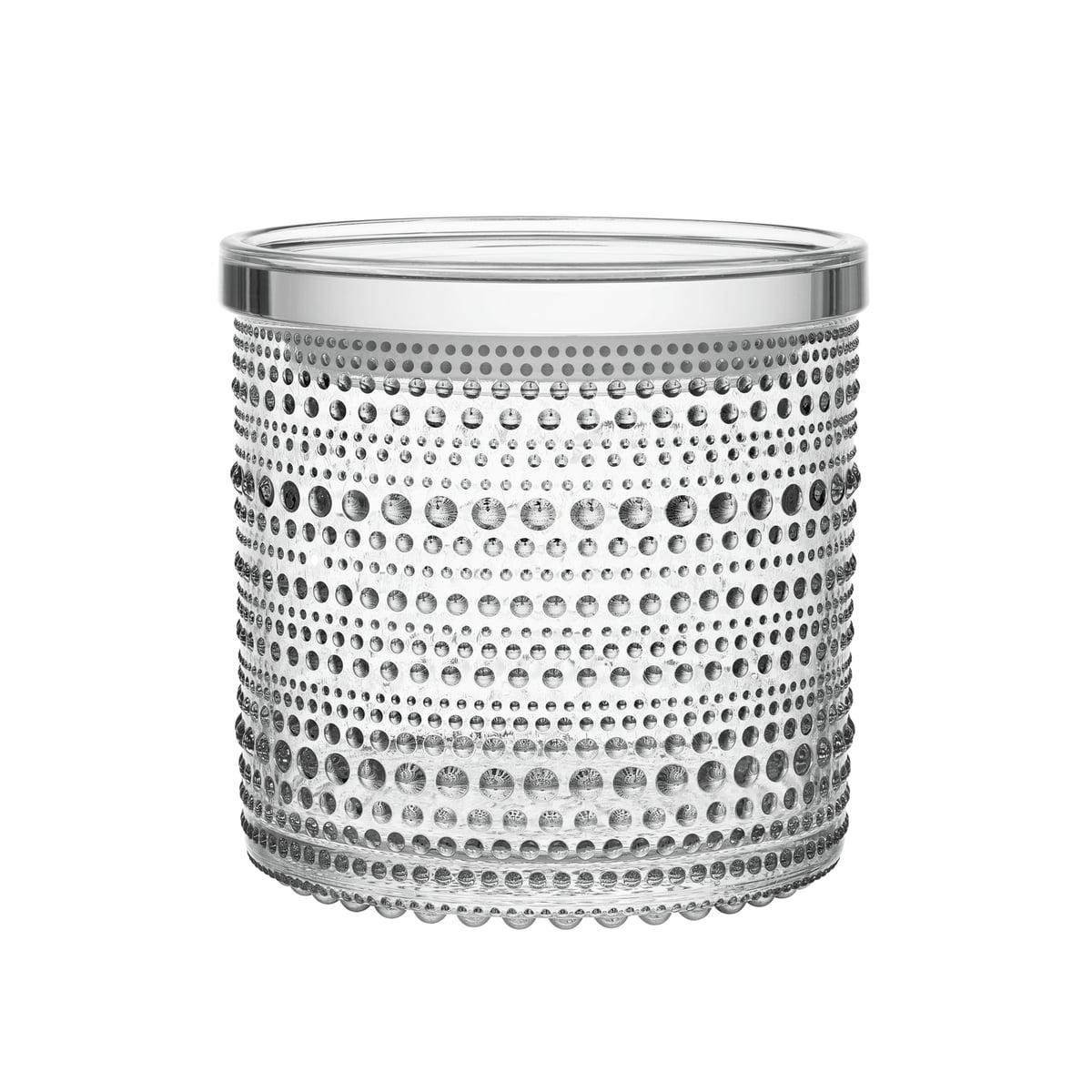 Iittala - Kastehelmi Vorratsglas 116 x 114 mm, klar   Küche und Esszimmer > Aufbewahrung > Vorratsdosen   Transparent -  durchsichtig   Iittala