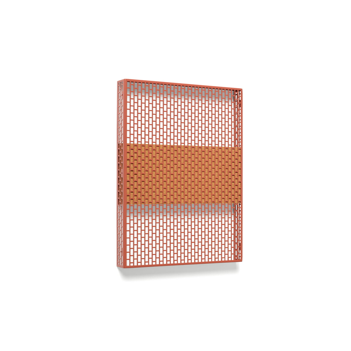 Hay - Pinorama Board small, wine | Büro > Tafeln und Boards > Hängetafeln | Weinrot | Stahl pulverbeschichtet -  kork | Hay