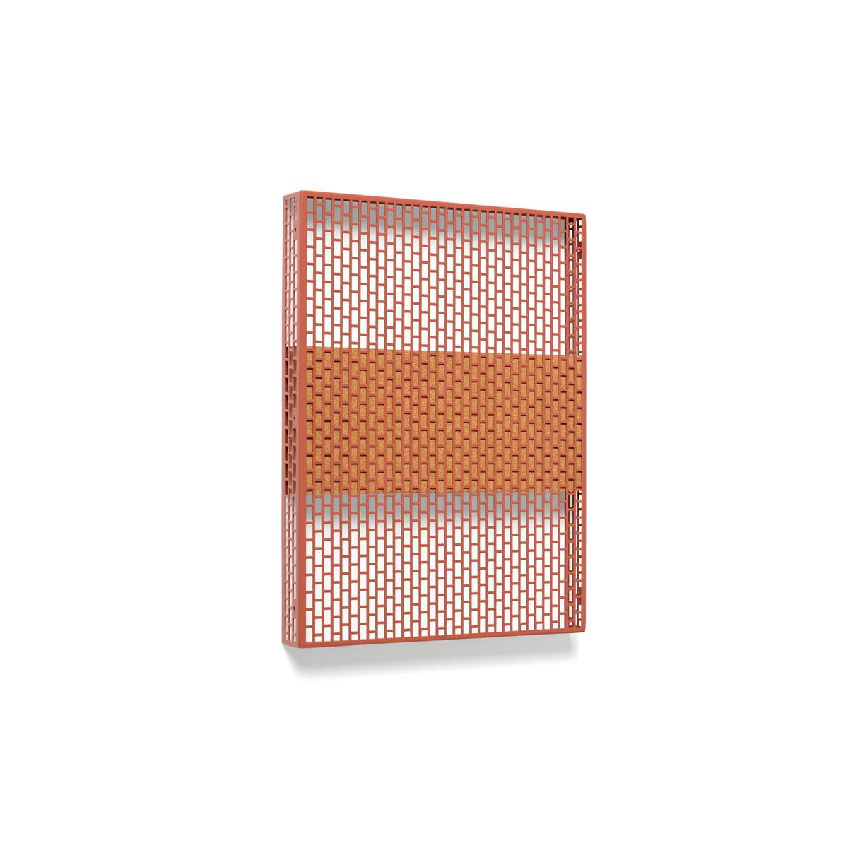 Hay - Pinorama Board small, wine | Büro > Tafeln und Boards | Weinrot | Hay