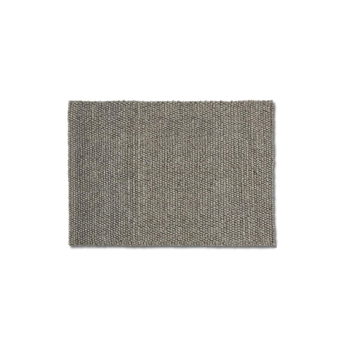 Hay - Peas Teppich 80 x 140 cm, medium grey | Heimtextilien > Teppiche | Grau | Hay