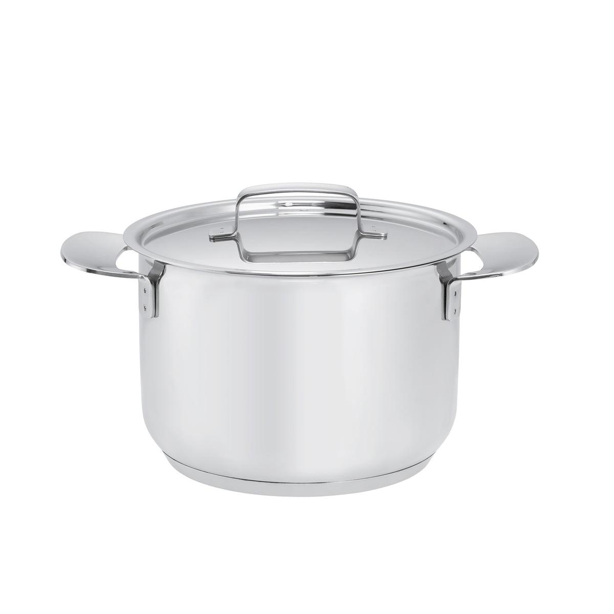 Fiskars - All Steel Kasserolle mit Deckel, 3 Liter | Küche und Esszimmer > Kochen und Backen | Edelstahl poliert | Fiskars