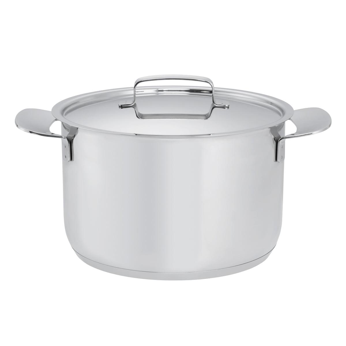 Fiskars - All Steel Topf mit Deckel, 5 Liter   Küche und Esszimmer > Kochen und Backen > Töpfe   Fiskars