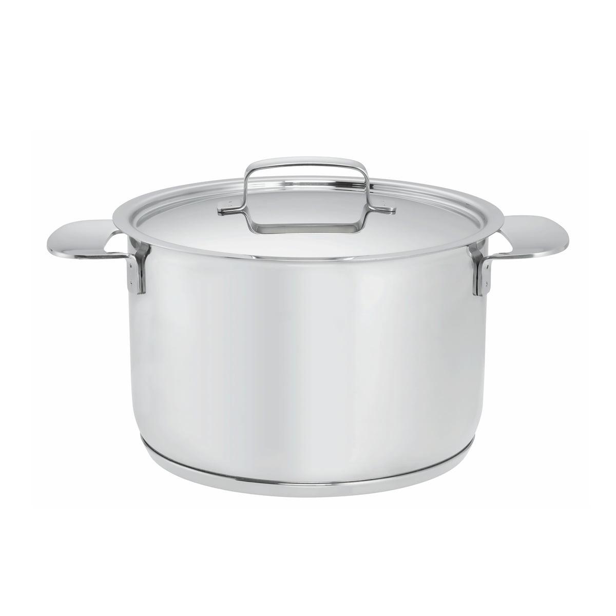 Fiskars - All Steel + Topf mit Deckel, 4l / Ø 20 cm | Küche und Esszimmer > Kochen und Backen > Töpfe | Edelstahl poliert | Fiskars