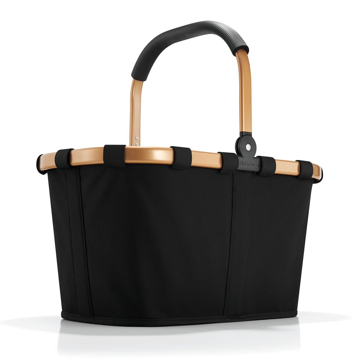 Reisenthel carrybag frame gold schwarz