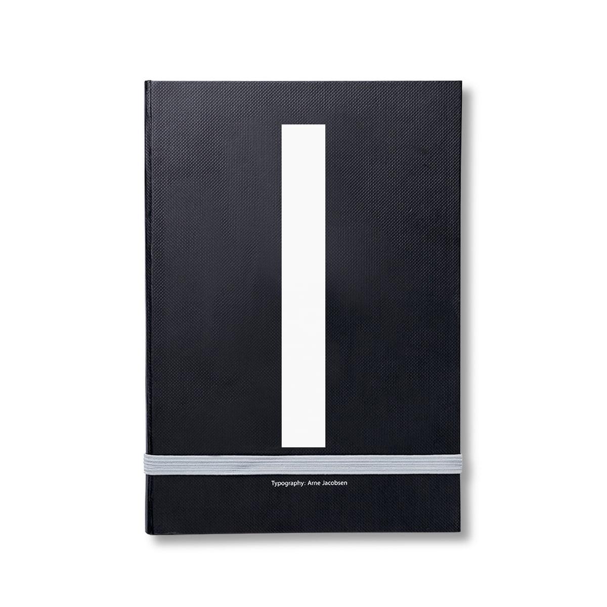 Design Letters - Personal Notizbuch von A-Z, I | Dekoration | Schwarz | 80g papier | Design Letters