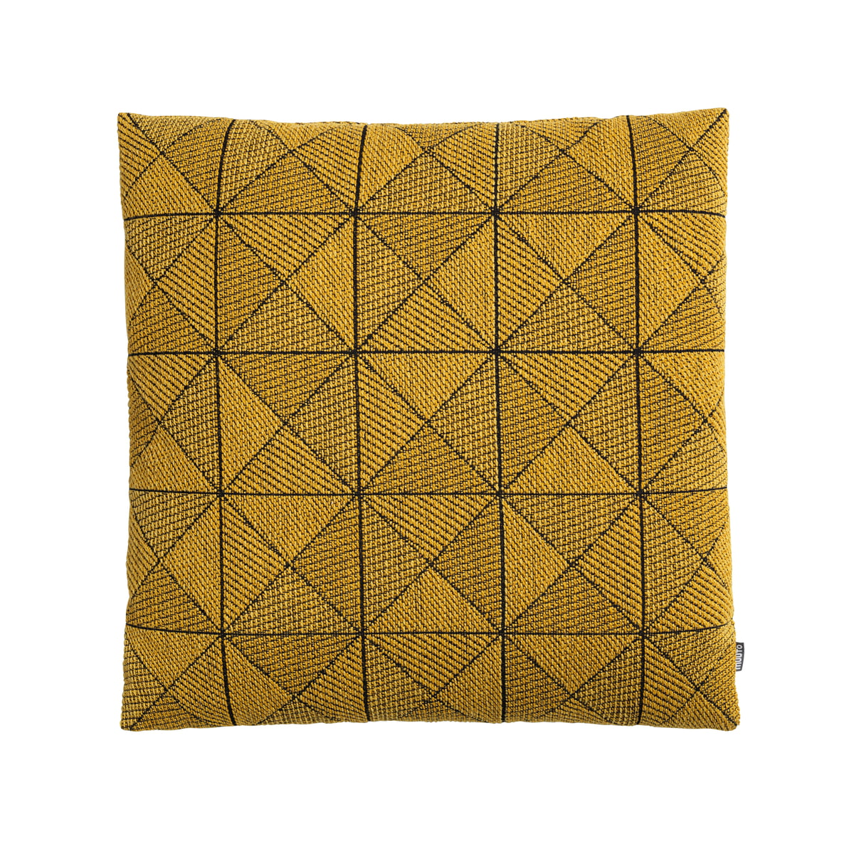 Muuto tiles cushion gelb