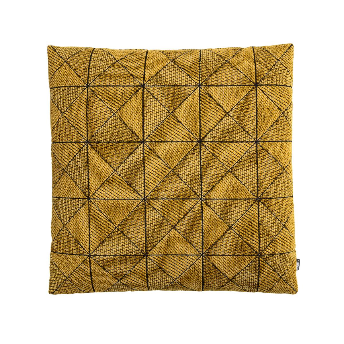 Muuto tiles cushion gelb