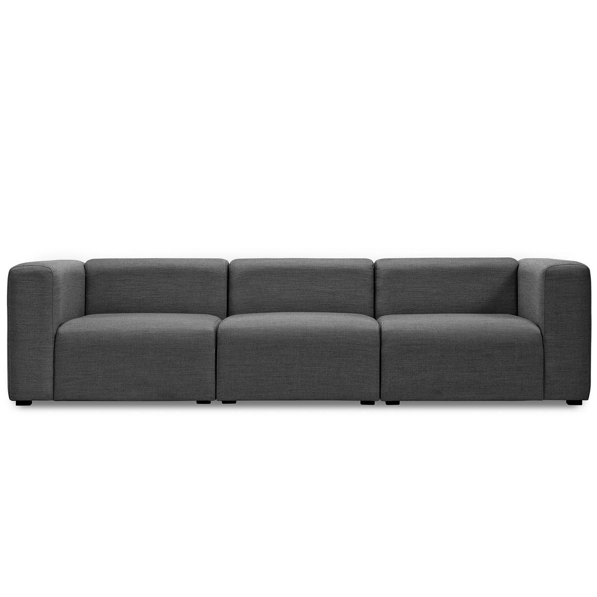 Bezaubernd Couch Dunkelgrau Referenz Von Hay - Mags Sofa 3-sitzer, Kombination 1,