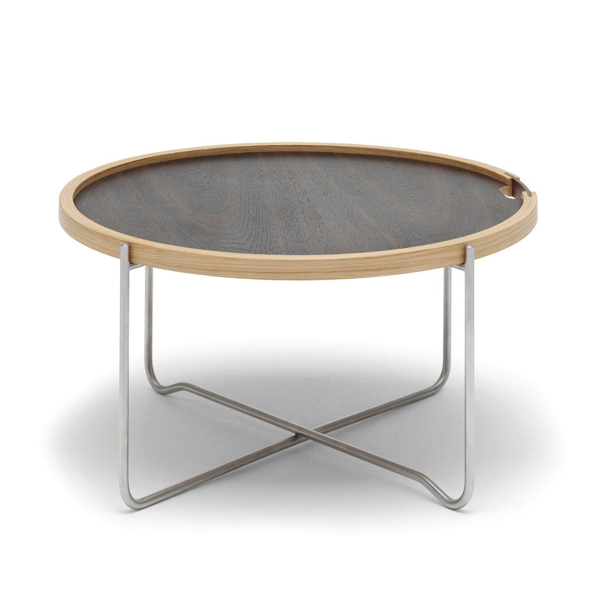 Carl hansen ch417 tray table eiche geraeuchert