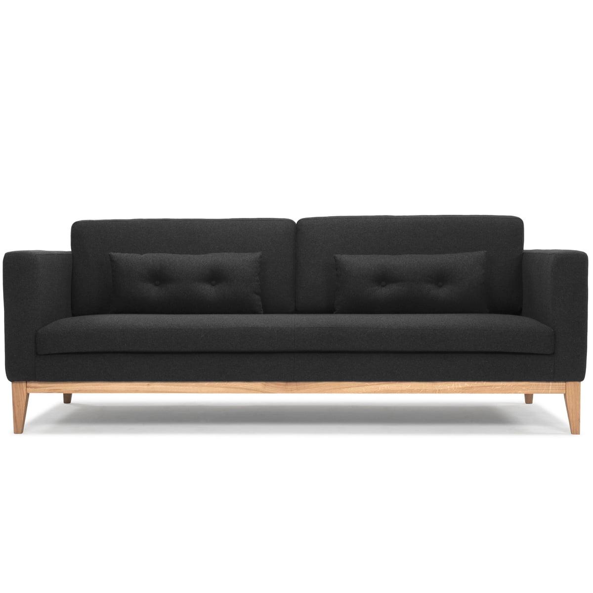 Designe house stockholm day sofa darkgrey front freisteller