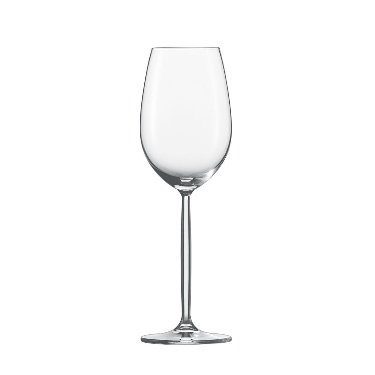 Zwiesel Kristallglas AG Schott Zwiesel - Diva Weinglas, Weißwein | Küche und Esszimmer > Besteck und Geschirr > Gläser | Transparent -  durchsichtig | Zwiesel Kristallglas AG