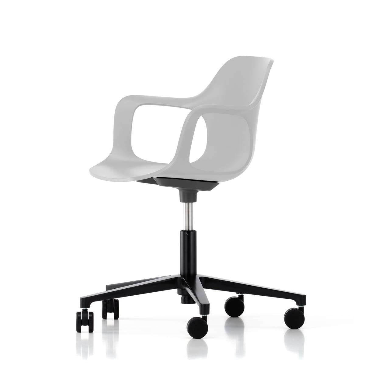 Vitra - Hal Studio Bürodrehstuhl, weiß / basic dark   Büro > Bürostühle und Sessel  > Bürostühle   Weiß   Vitra