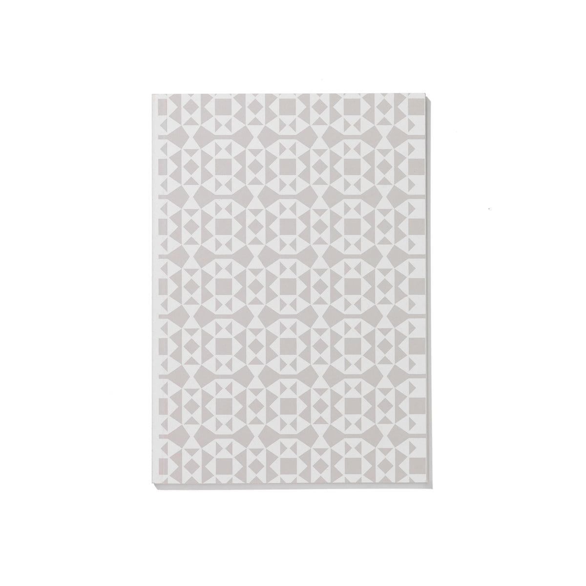 Vitra - Notizbuch Softcover A5, Facets weiß | Dekoration > Accessoires | Weiß | Vitra