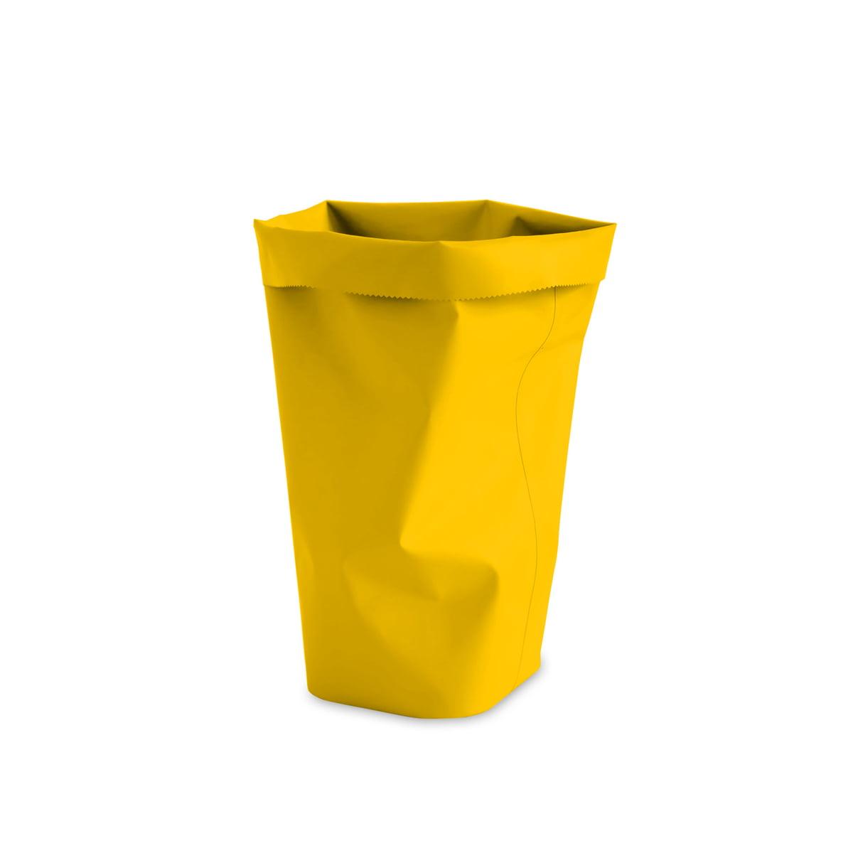 L&Z - Roll-Up Papierkorb M, zitrone   Büro > Papierkörbe   Zitronengelb   Tpu (100 % pvc-frei)   L&Z