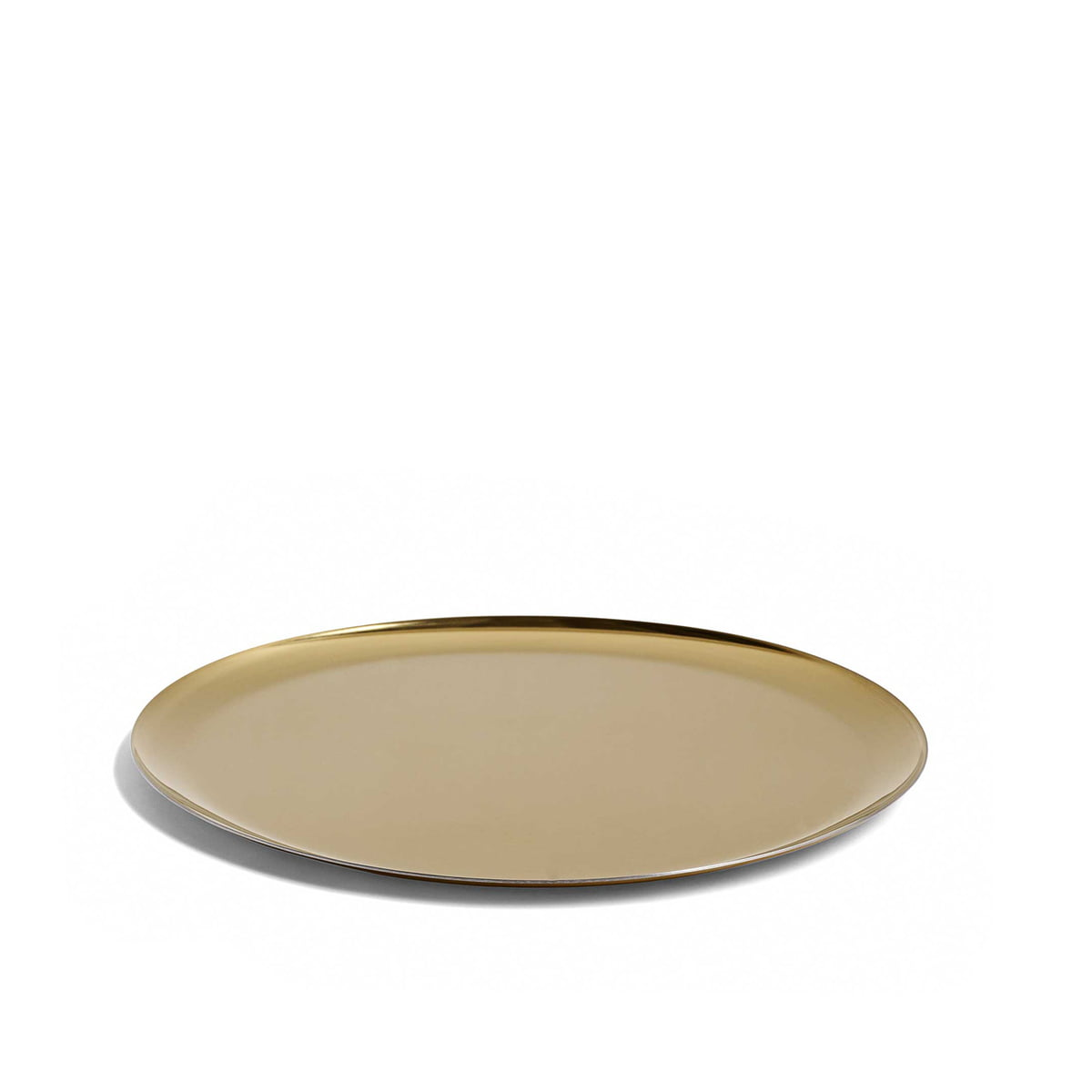 Hay serving tray gold frei
