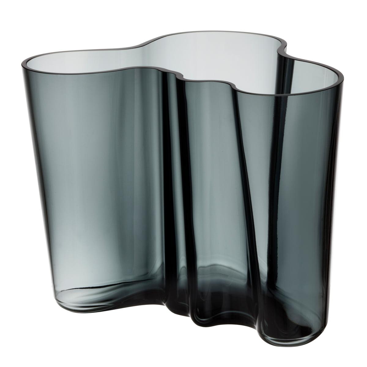 Iittala - Aalto Vase Savoy 160 mm, dunkelgrau | Dekoration > Vasen | Dunkelgrau | Iittala