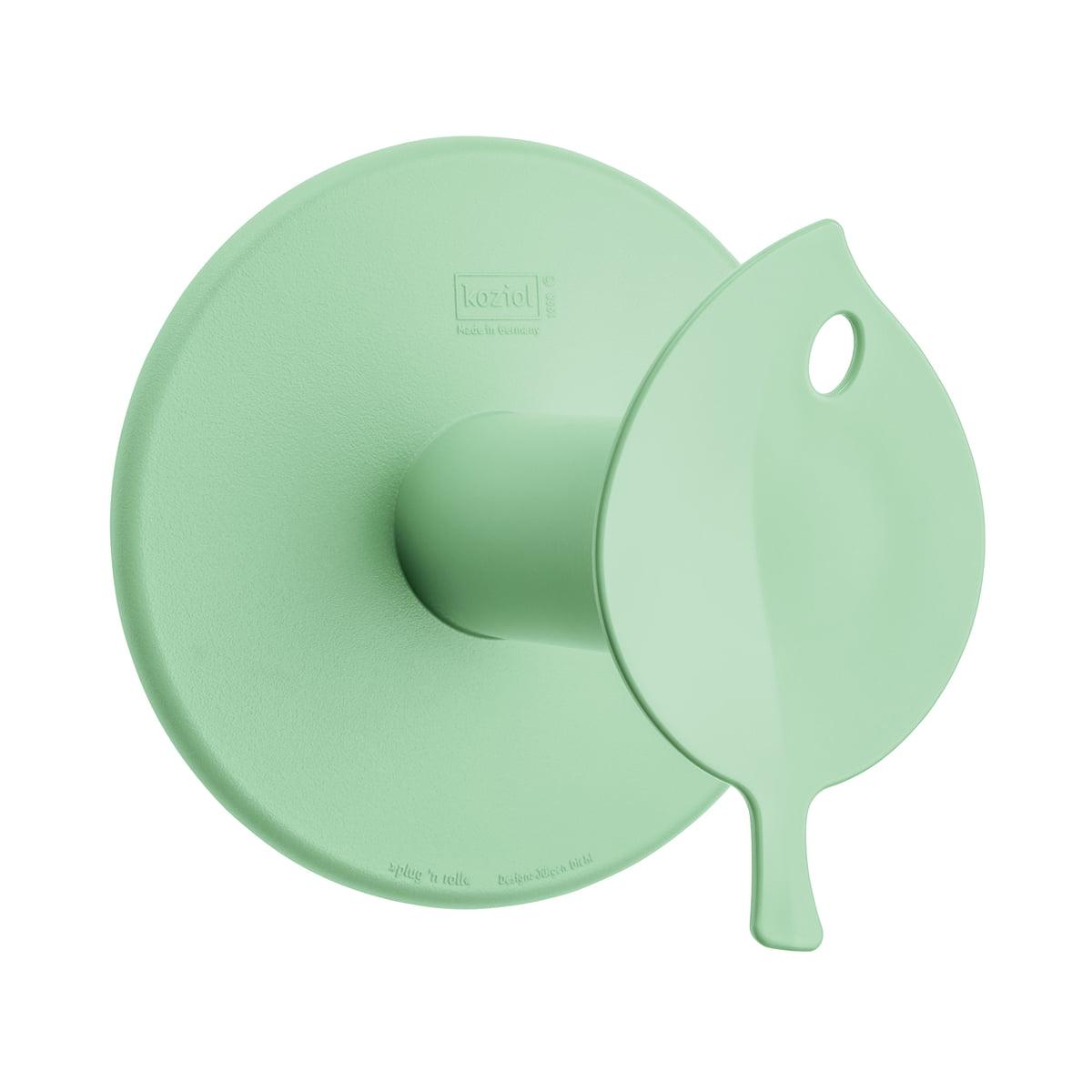 Koziol - Sense WC-Rollenhalter, solid mint | Bad > Bad-Accessoires > Toilettenpapierhalter | Mint | Kunststoff aus nachwachsenden rohstoffen (zuckerrohr) | Koziol