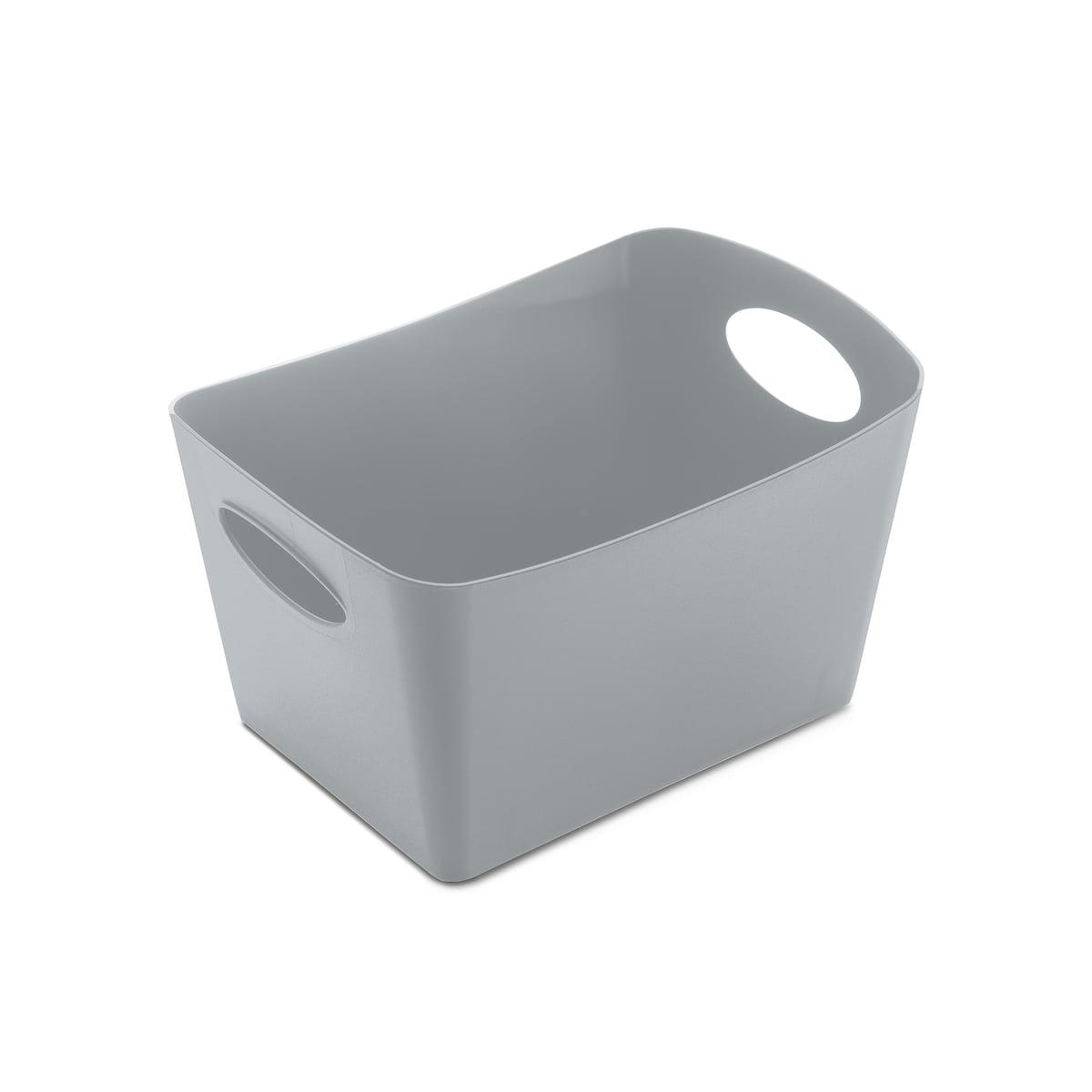 Koziol - Boxxx S Aufbewahrungsbox, grau | Garten > Gartenmöbel > Aufbewahrung | Grau | Koziol
