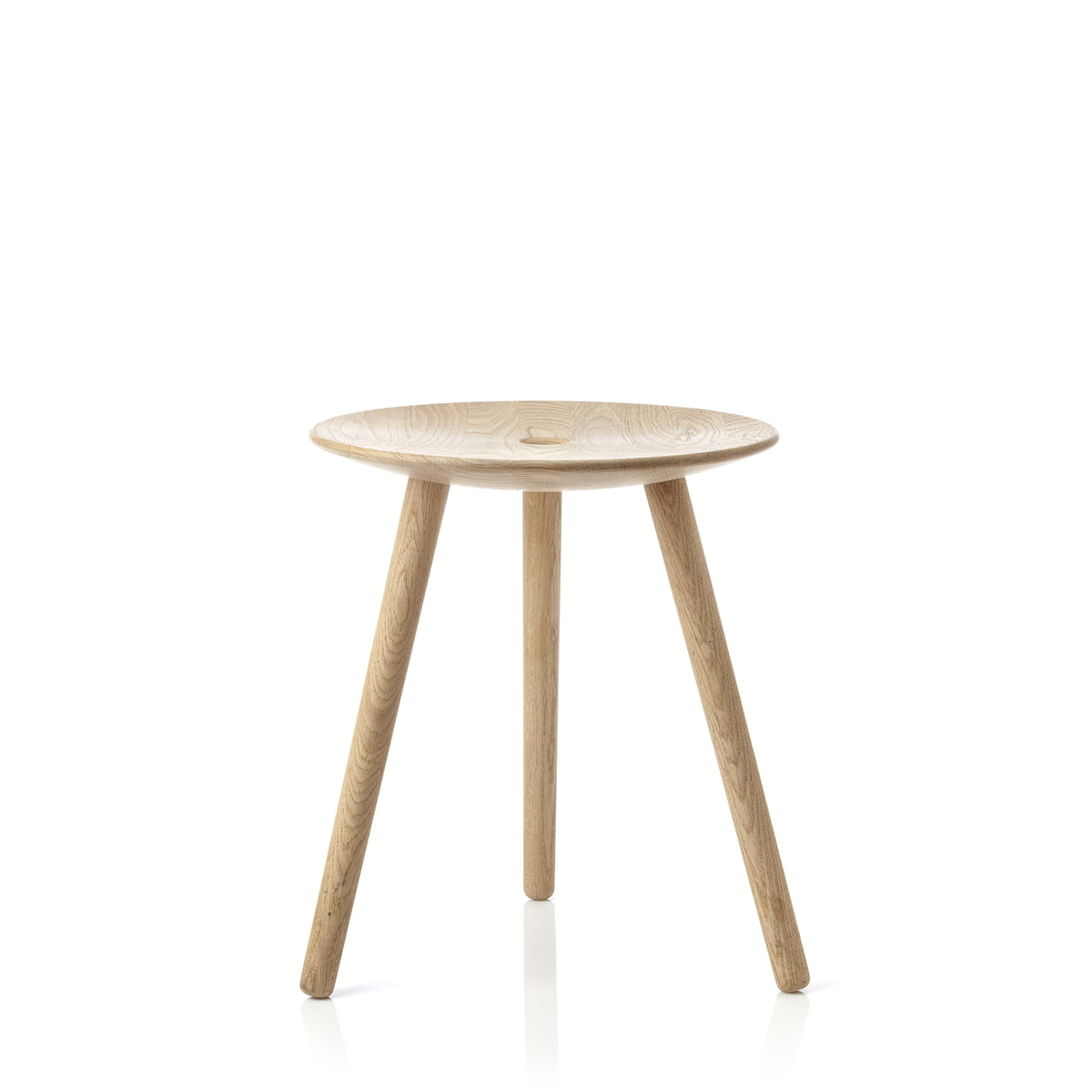 Applicata di volo stool hocker 45cm hell eiche klein frei