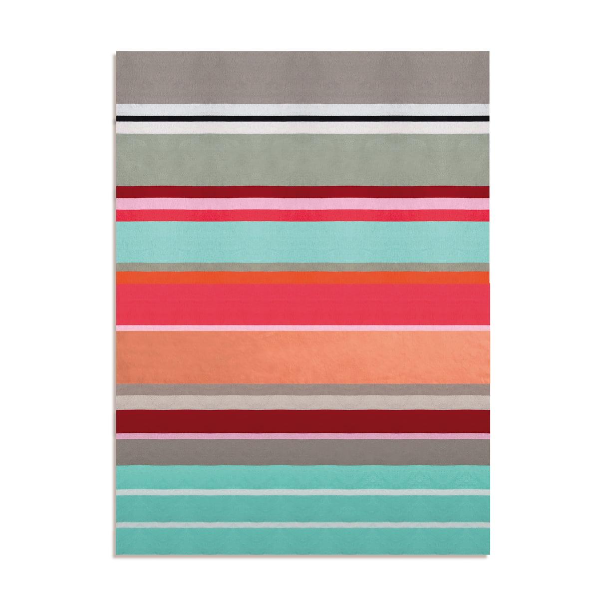 Remember - Baumwolldecke, Stripe | Heimtextilien > Decken und Kissen > Baumwolldecken | Mehrfarbig | Remember