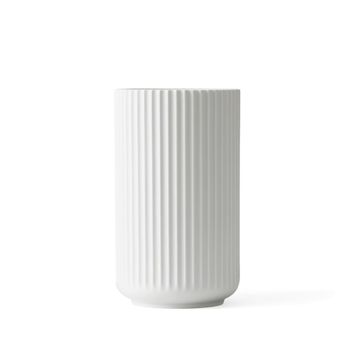 Lyngby porcelan lyngbyvase weiss matt h 15 cm freisteller